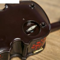 Шкатулка музыкальная механическая скрипка 7х28х11,5 см