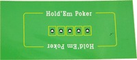 Сукно для покера с разметкой для карт 90х180
