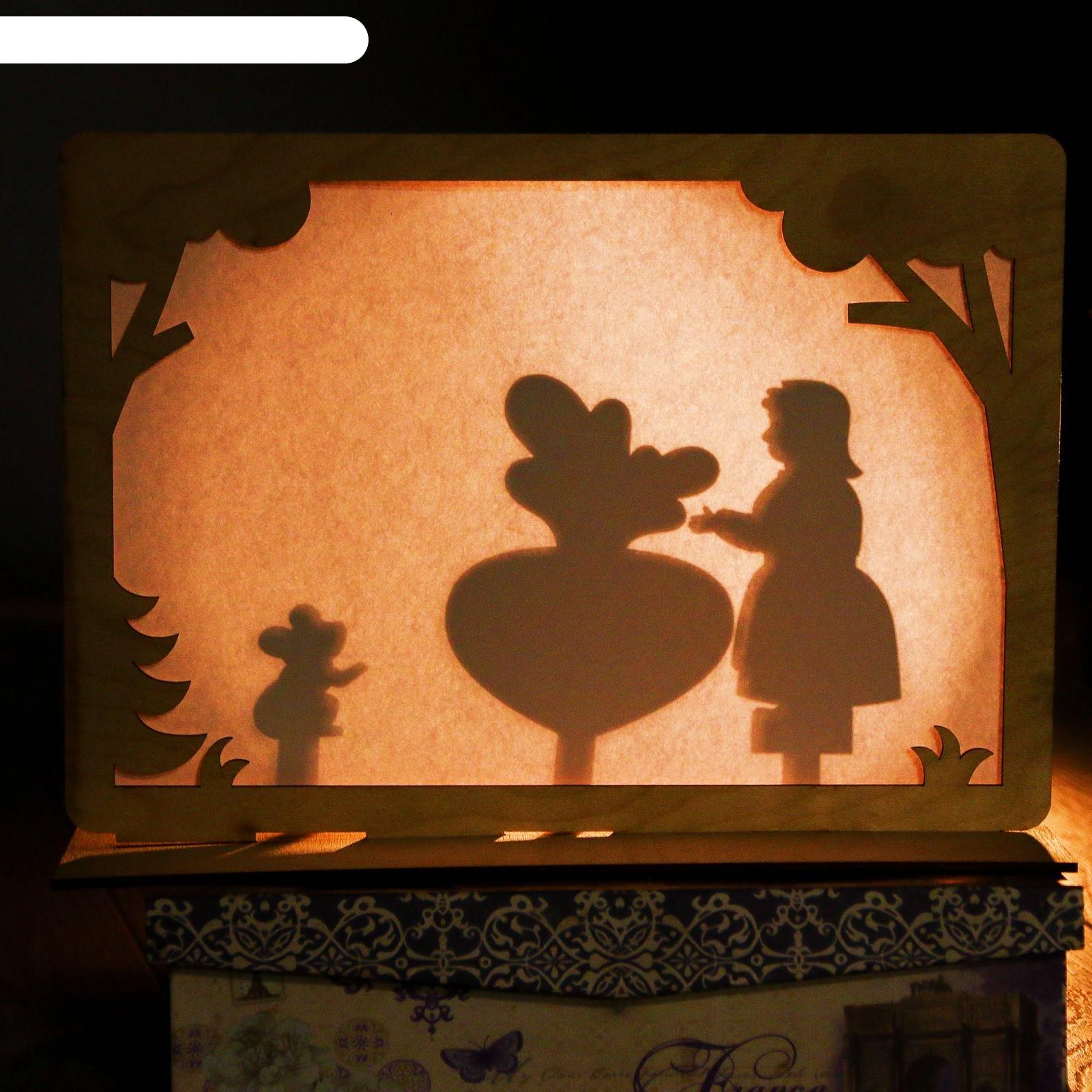 Театр теней для детей картинки
