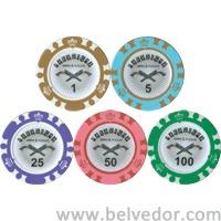 Набор для покера на 500 фишек Paradigma Crown 14 гр.