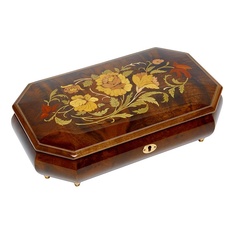 Шкатулка для ювелирных украшений музыкальная, арт. Aw-02-051