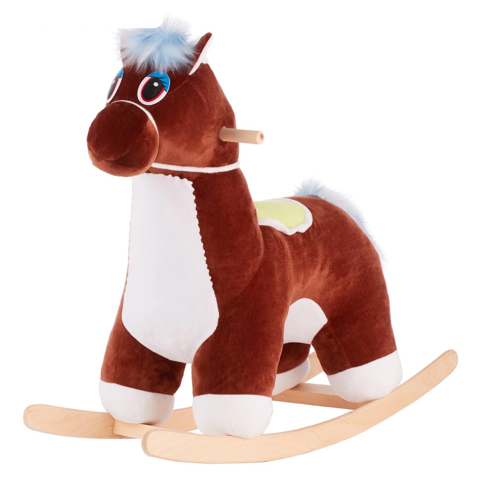 Качалка лошадка музыкальная