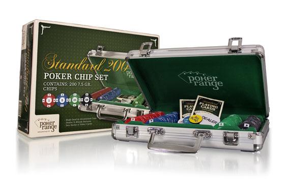 Комплект на 200 чипов Poker Range (8гр)