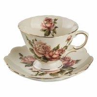 """чайный набор на 6 персон 12 пр.""""корейская роза"""" 25... (85-875)"""