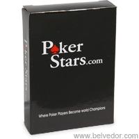 "Карты покер старс (poker Stars) 100""пластик"