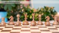 Шахматы стародворянские венге, король 8см, доска ларец 44х44см