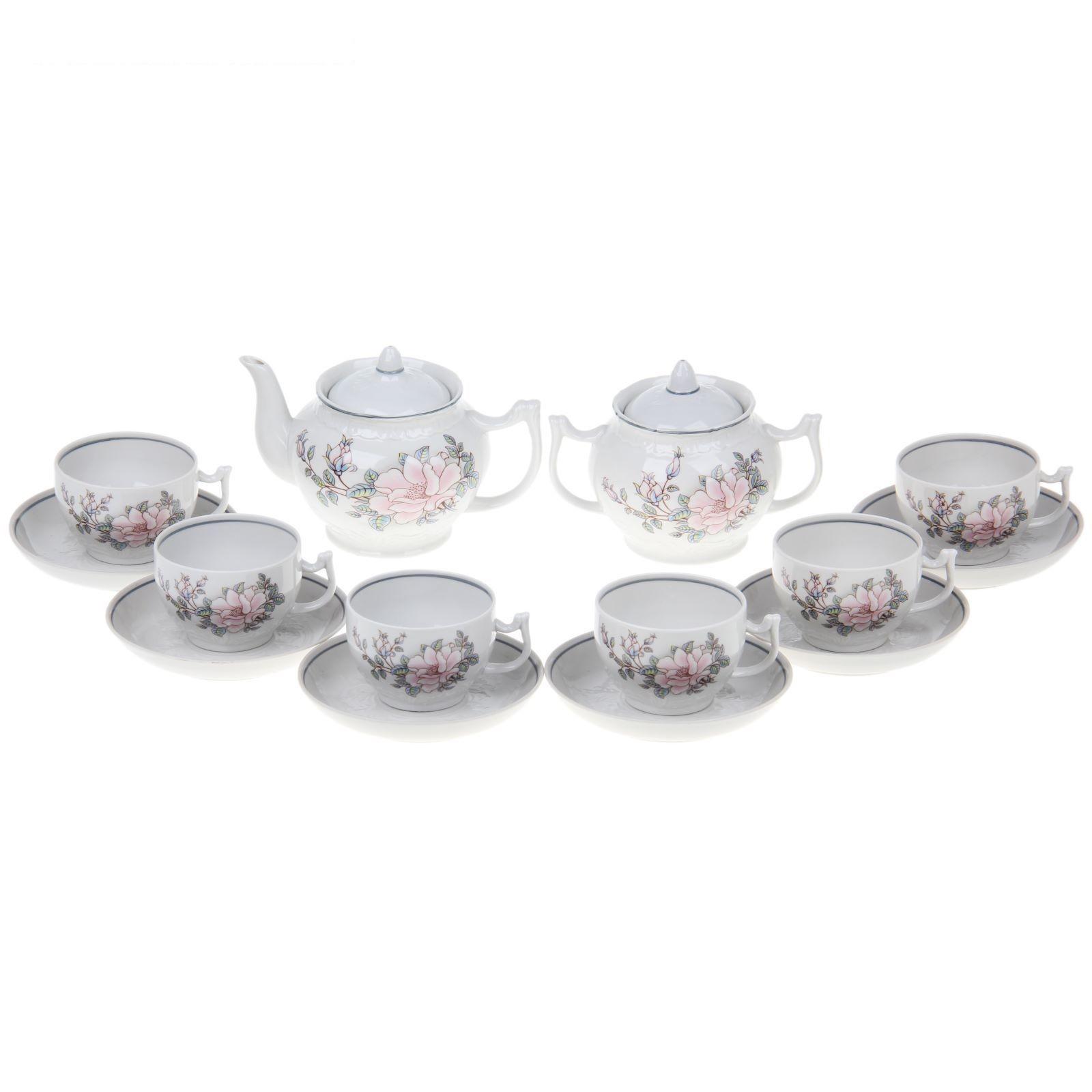 Сервиз чайный 14 предметов 6 персон Контесса УЦЕНКА