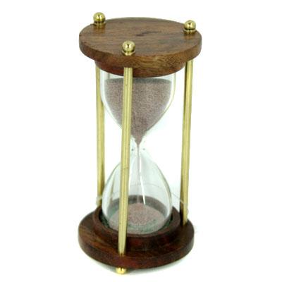 Сувенир: часы песочные на 3 мин. 12см