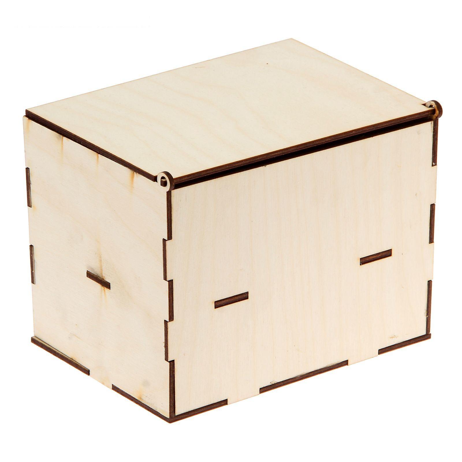 Шкатулки и ящики