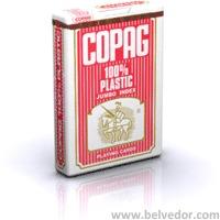 """Карты для игры в покер Copag 100""""пластик"""