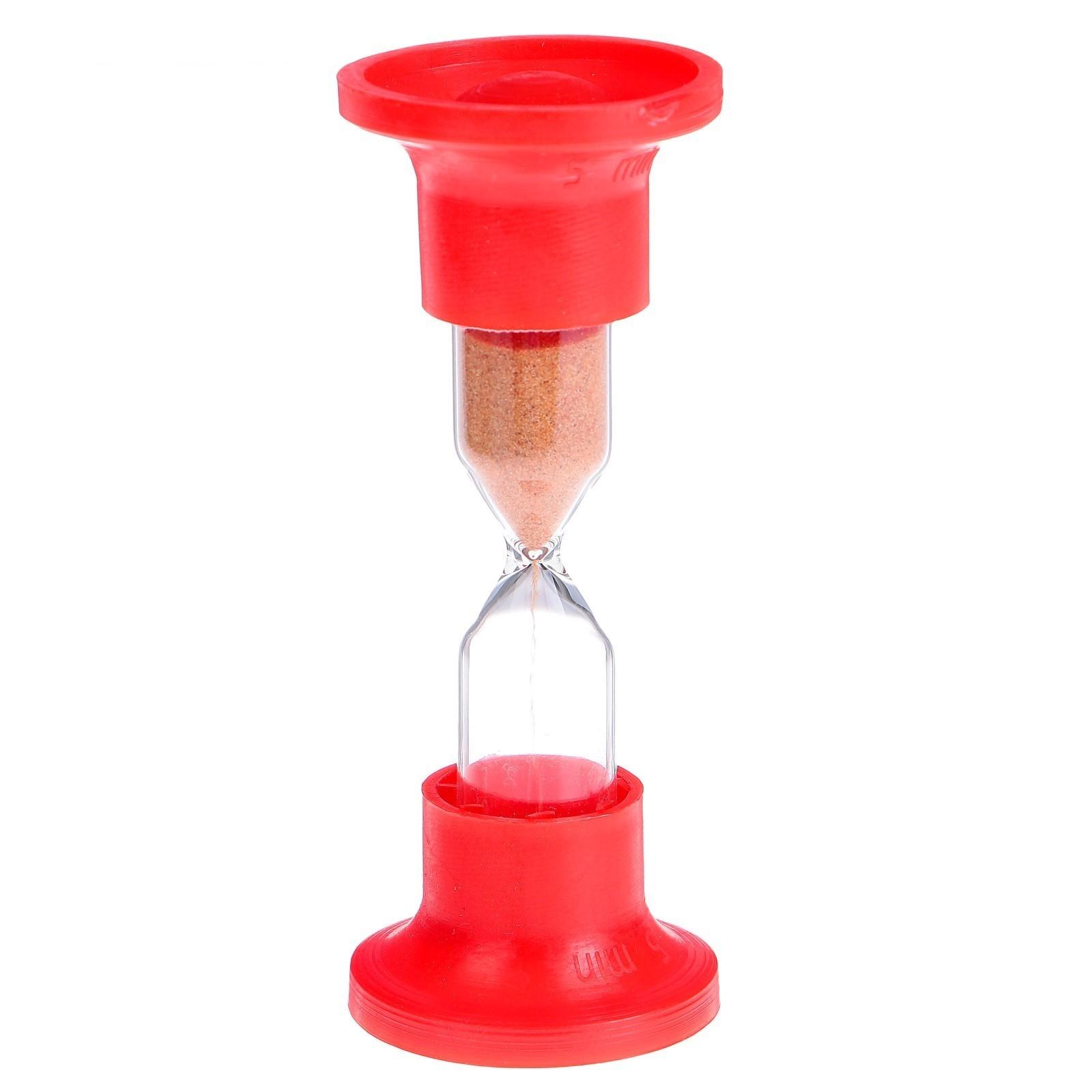 Часы песочные настольные на 5 минут
