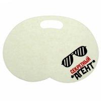 Набор банный с доп.элементами секретный агент, коврик + шапка