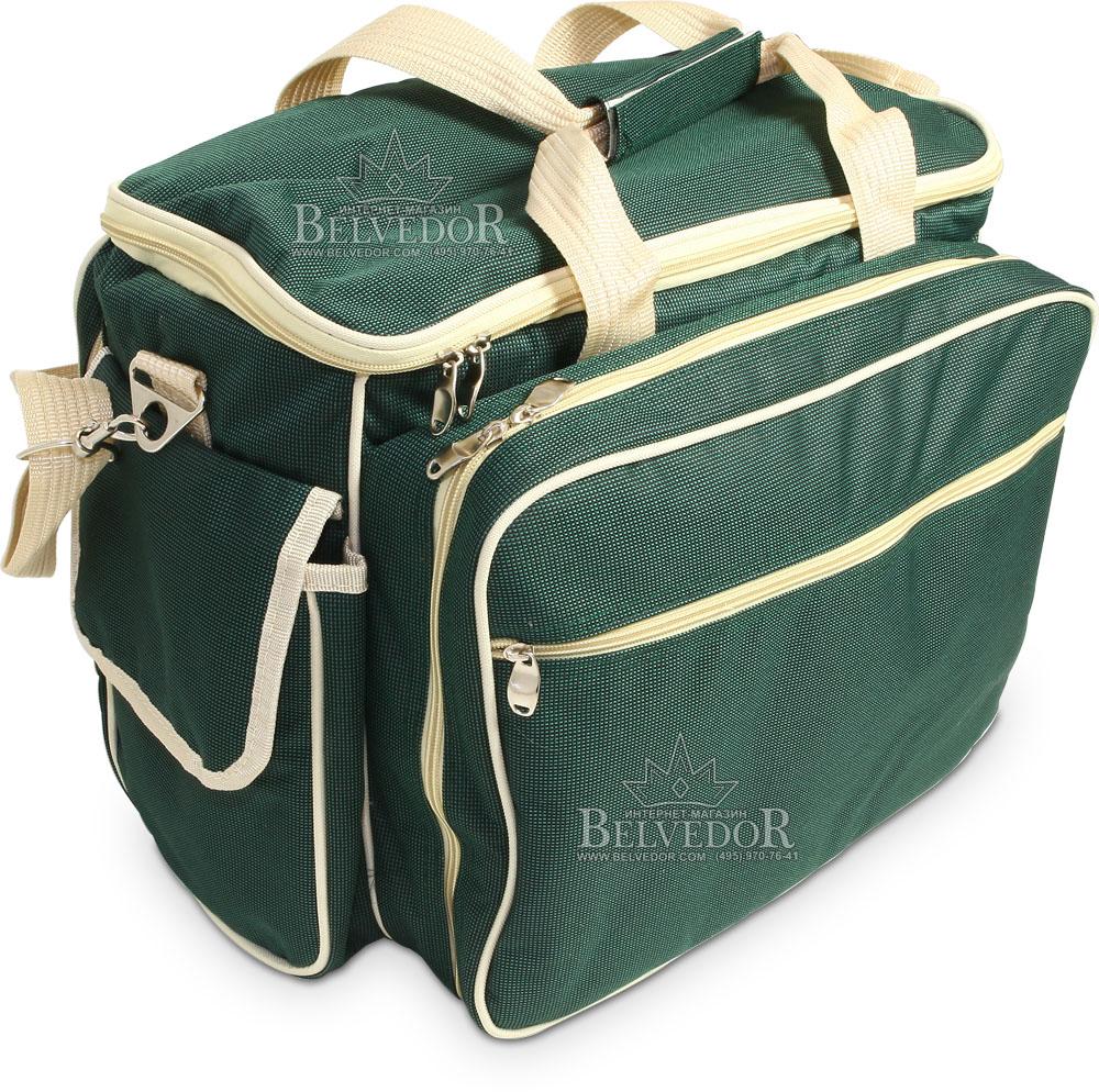 3134 сумка пикниковая Green Glade с отделом холодильником