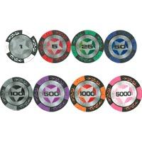 Профессиональные фишки для покера Star New 14 гр. и 15 гр.