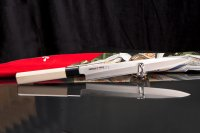 Нож кухонный японский янагиба Samura Okinawa So0110 лезвие 245 мм
