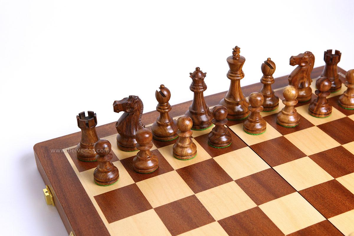 Сделать шахматы из дерева своими руками 14