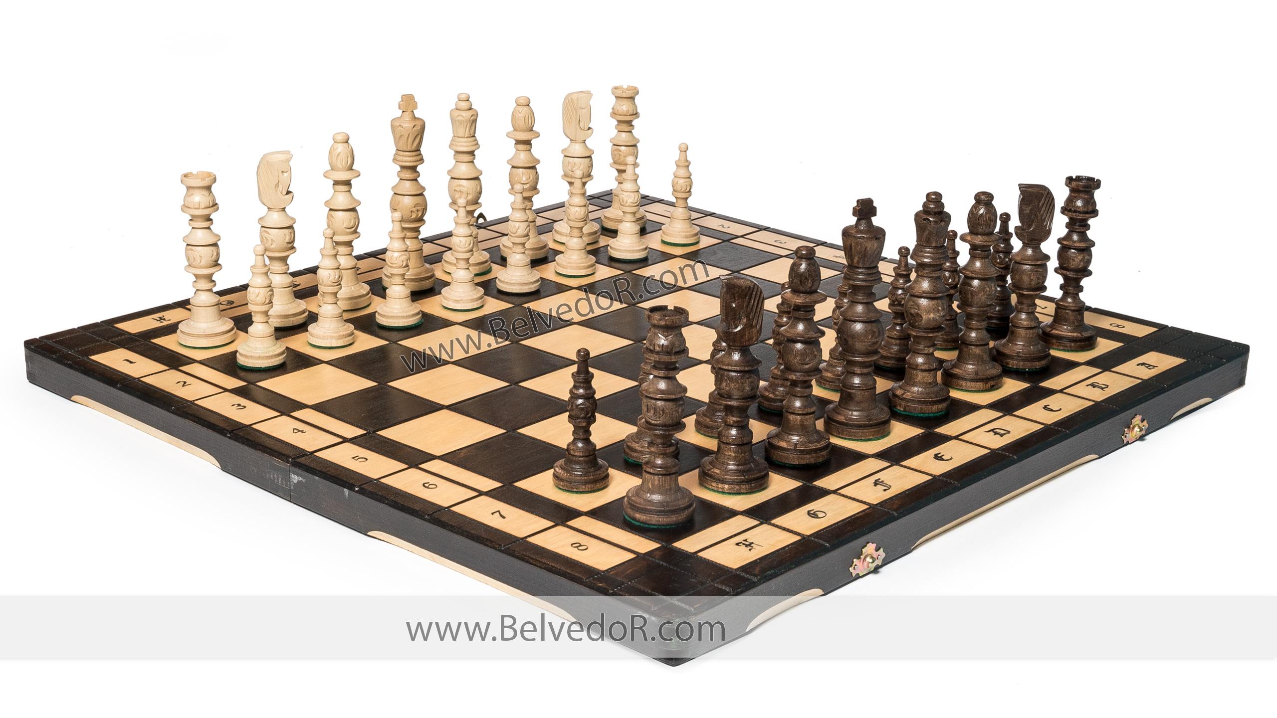 Шахматы Галант 58х58см Польша