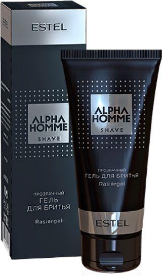 Гель Ah/sg100 для бритья Alpha Homme, 100 мл