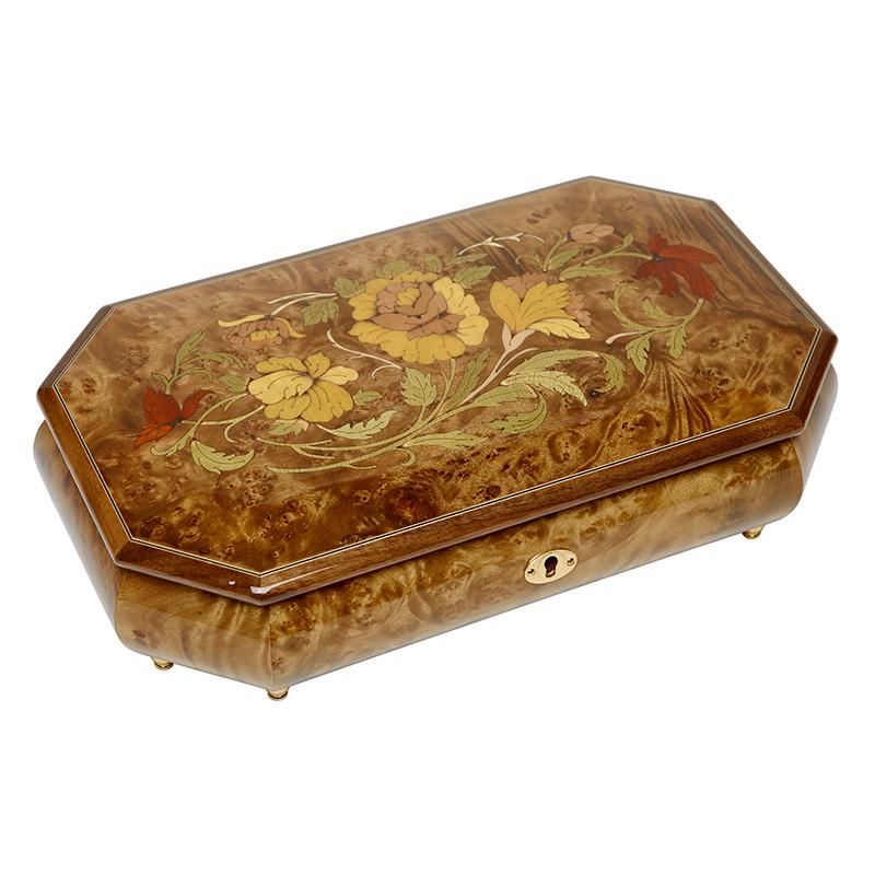 Шкатулка для ювелирных украшений музыкальная, арт. Aw-02-054
