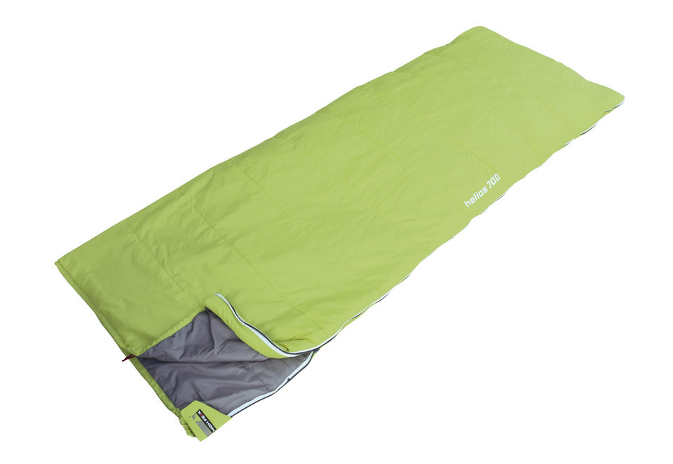 Спальный мешок High Peak Helios 700 (цвет: лайм)