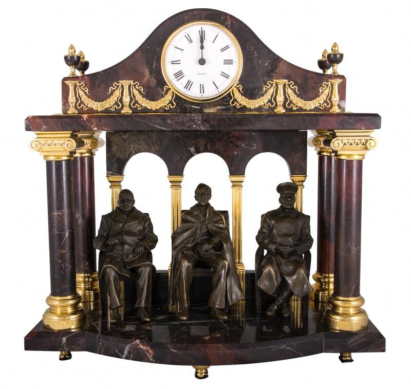 """Часы """"ялтинская конференция""""  златоуст"""