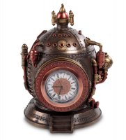 Ws-294 шкатулка с часами в стиле стимпанк машина времени