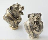 Бронзовая ложка для обуви медведь лауреат