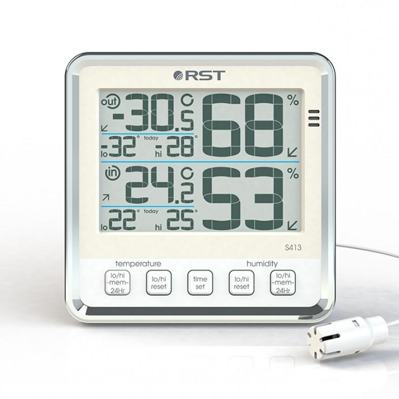 Электронный термометр гигрометр S413