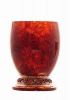 Набор стаканчиков из янтаря - 150 мл