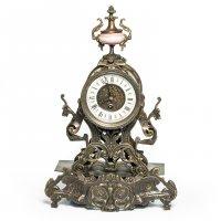 "Бронзовые часы ""композиция время"", 44х29х15см"
