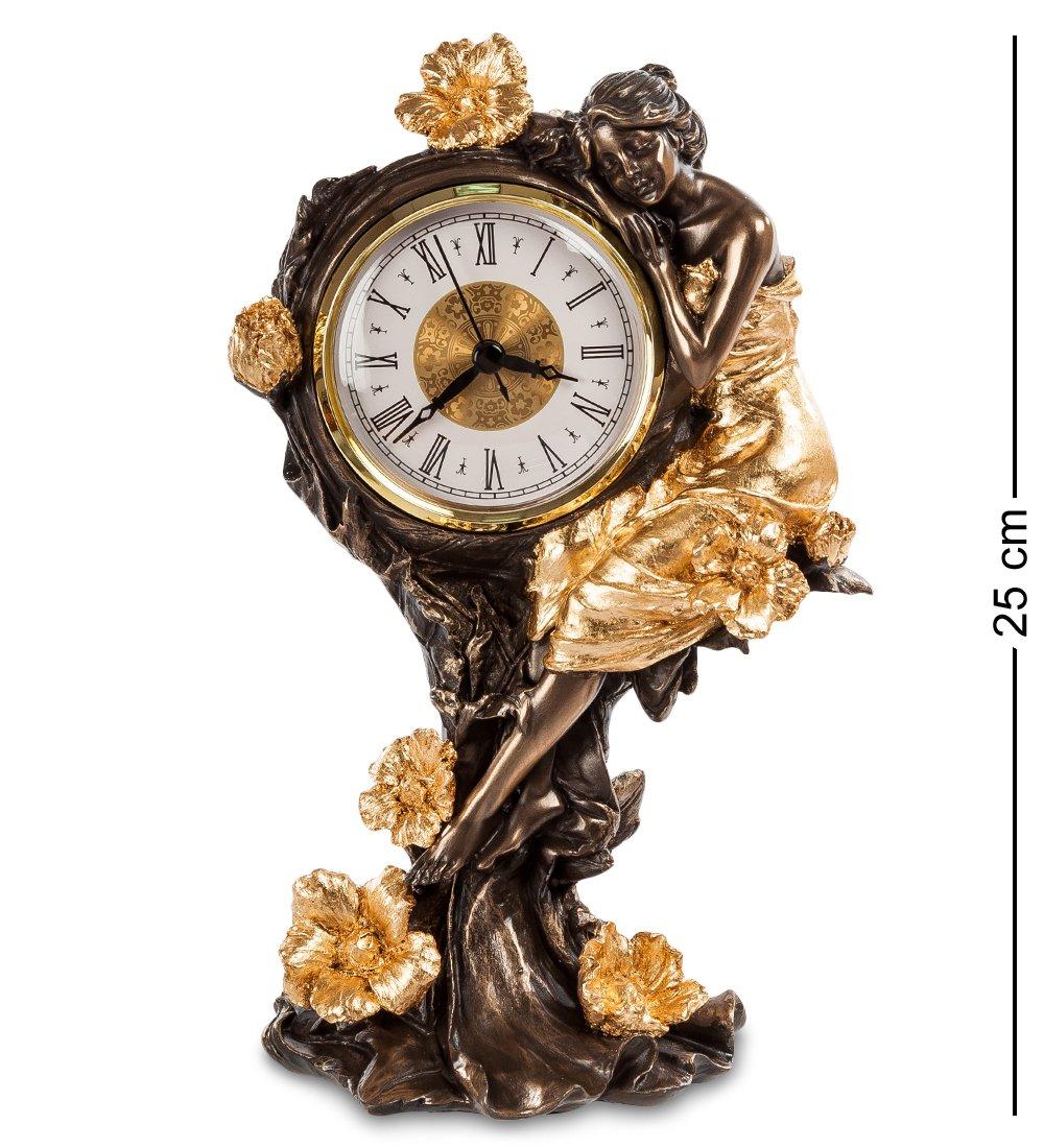 Ws-688/ 2 часы девушка и розы