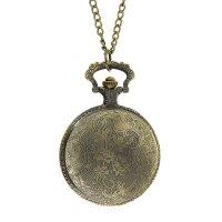 Карманные кварцевые часы «рыбалка», на цепочке 80 см