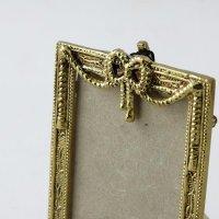 Рамка для фото из бронзы