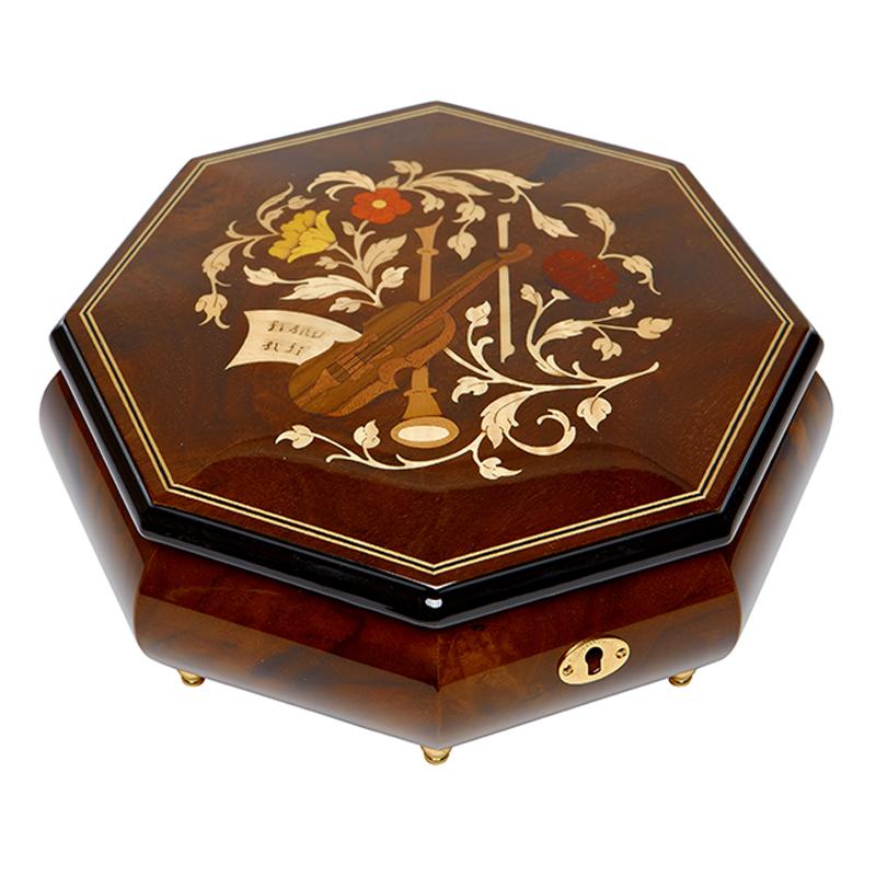 Шкатулка для ювелирных украшений музыкальная, арт. Aw-02-061