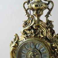 Часы бронзовые флор Bello De Bronze 45x26x12 см (португалия)