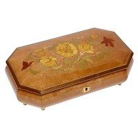 Шкатулка для ювелирных украшений музыкальная, арт. Aw-02-053