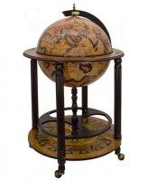 Глобус-бар напольный птоломей , сфера 45 см