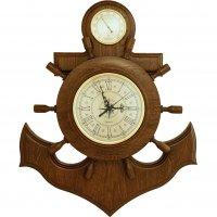 Якорь сувенирный, часы, барометр