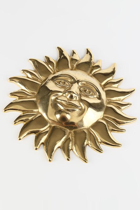 Настенное украшение солнце большое D 22 см
