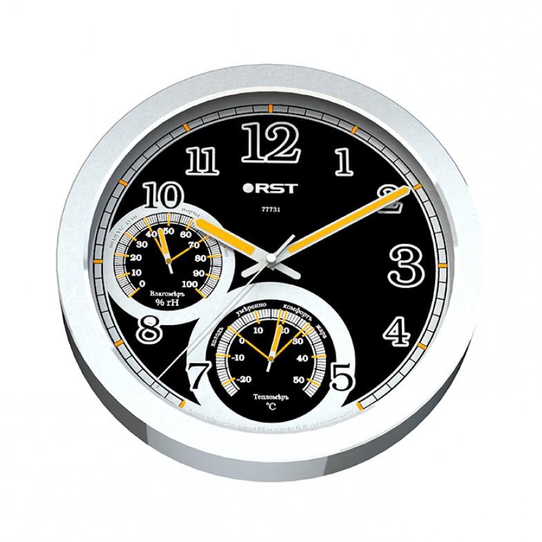 Настенные часы - метеостанция Rst 77731