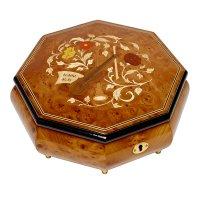 Шкатулка для ювелирных украшений музыкальная, арт. Aw-02-062