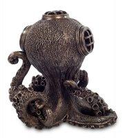 Ws-189 статуэтка-часы в стиле стимпанк осьминог