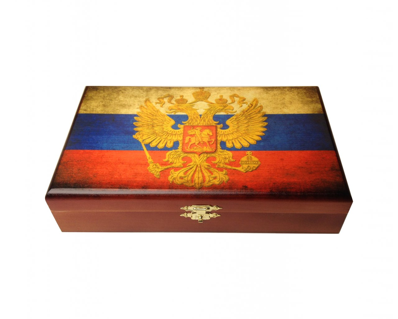 Домино подарочное в шкатулке  российские