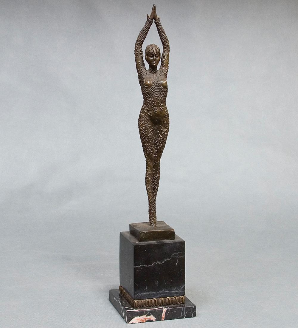 Ep-184 фигура бронзовая танцовщица