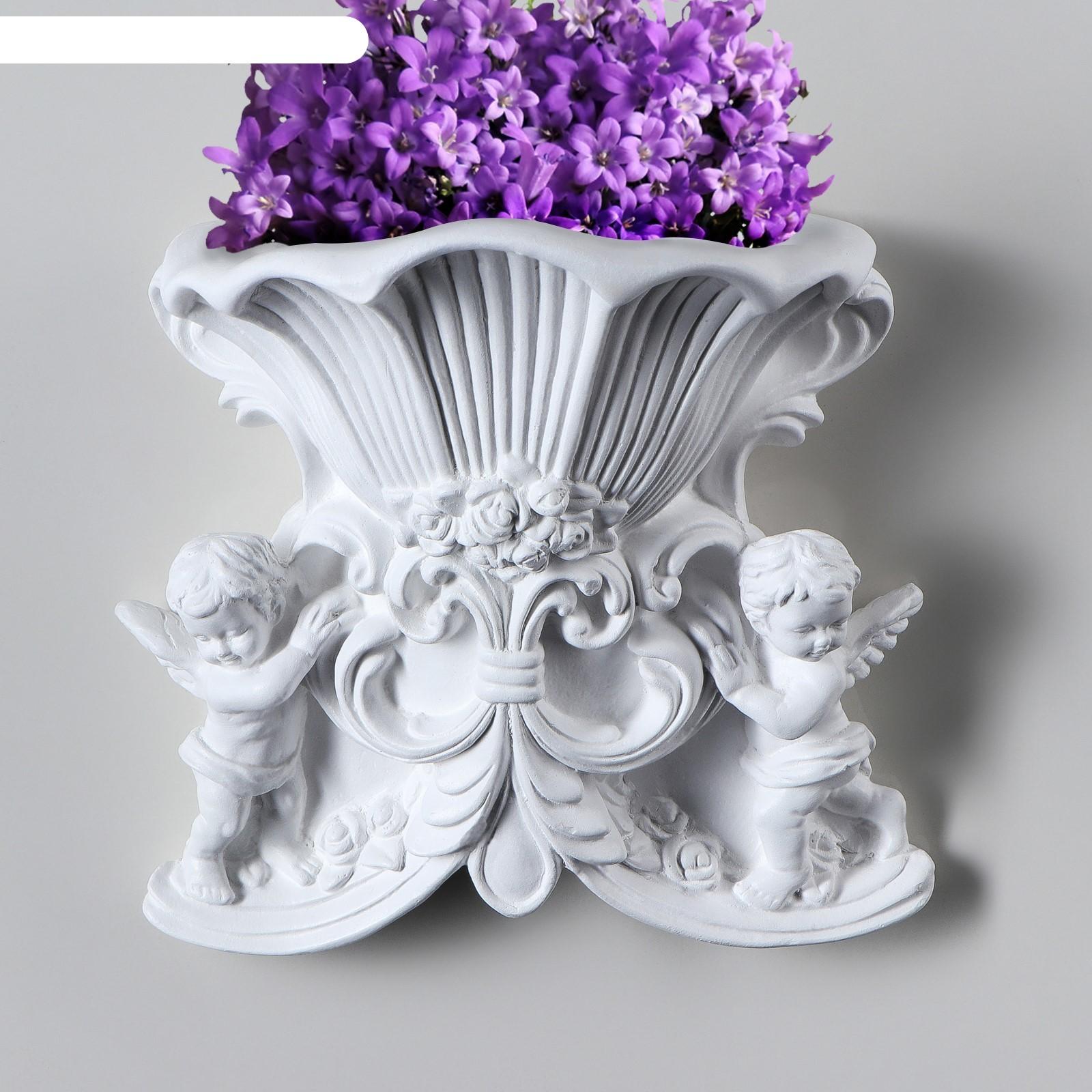 Декоративное кашпо ангел №8 белый (4145845) купить в ... Пила Ловушка Ангел
