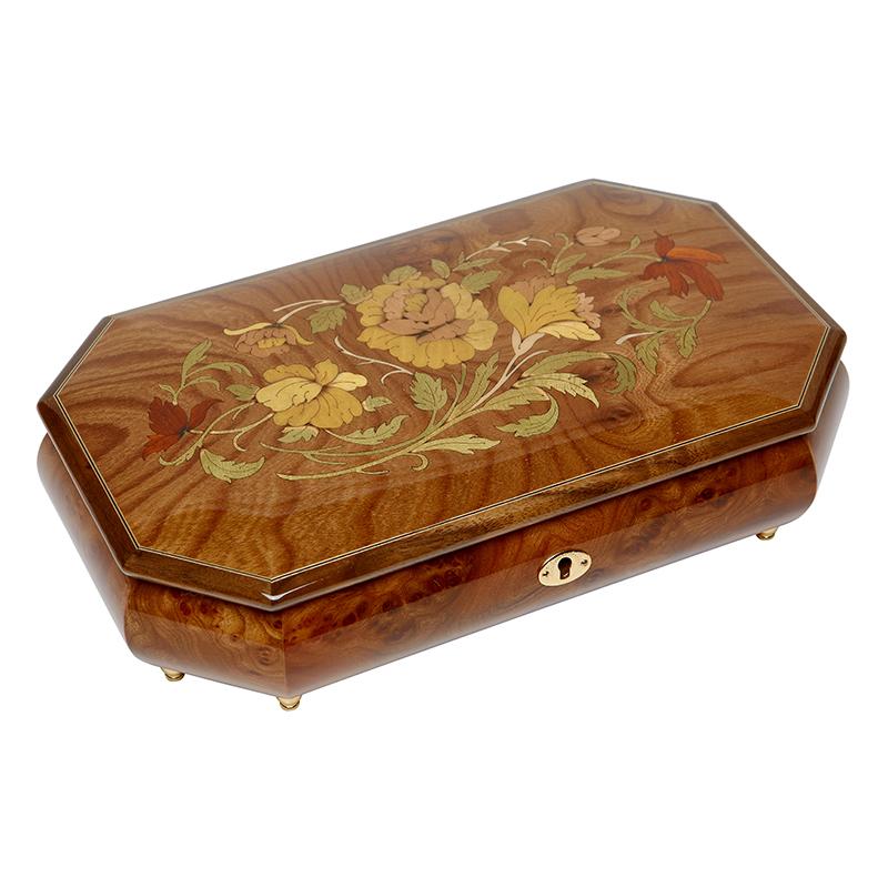Шкатулка для ювелирных украшений музыкальная, арт. Aw-02-052