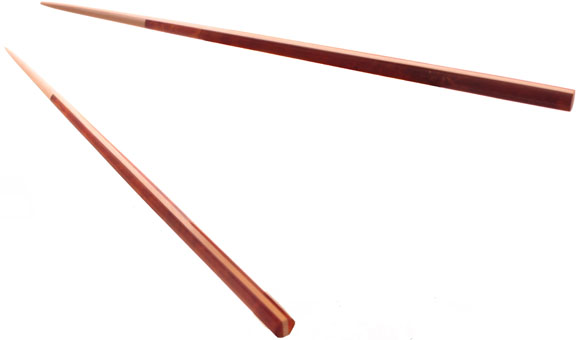 Палочки японские - сувенир из янтаря