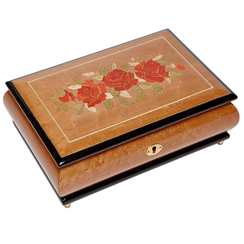 Шкатулка для ювелирных украшений музыкальная, арт. Aw-02-073