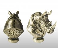 Бронзовая ложка для обуви носорог босс