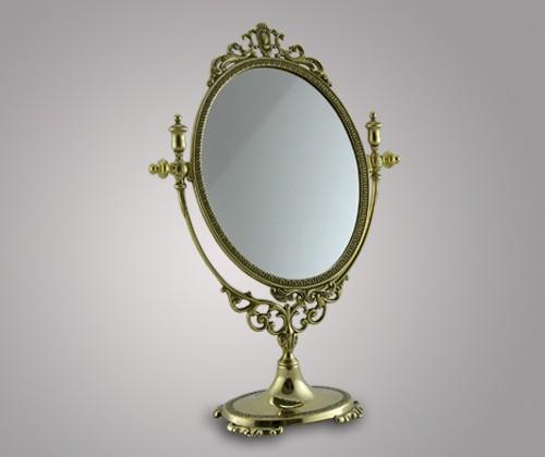 Зеркало настольное мечта из латуни (24*31 см)